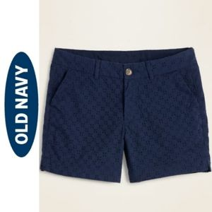 Old Navy Eyelet Shorts